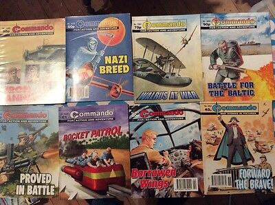 8 commando books
