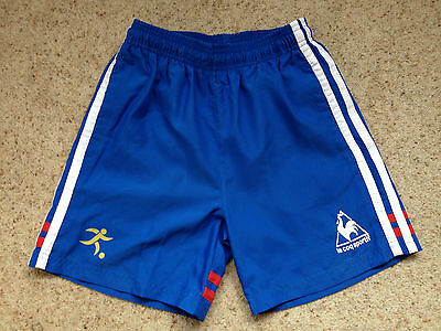 Le Coq Sportif Boys Lined Sports Shorts Size Mb  Great Cond