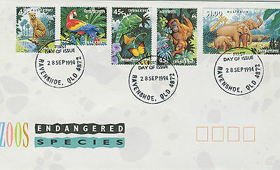 1994 - Australia -  Endangered Species - First Day Cover
