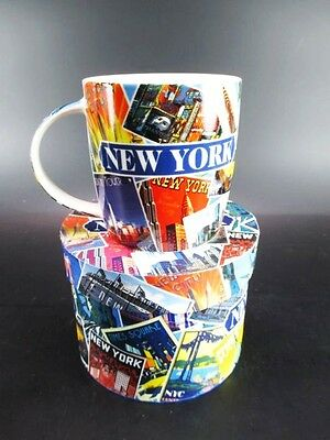 New York Kaffeetasse Becher,Souvenir Tasse USA mit Foto Gift Box,coffee mug