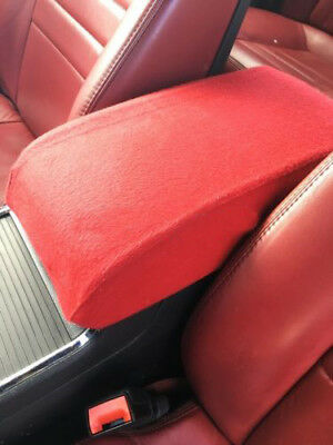 Door Armrest Leather Synthetic Cover for Dodge Charger 11-19 Gray Stitch