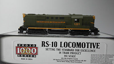 Proto 1000 Limited Edition Rs 10 Cn Cnr Canadian National #1881