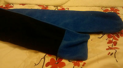 Brand New - Boys Scarf -  6-9 Yrs - Reversible - Navy And Blue