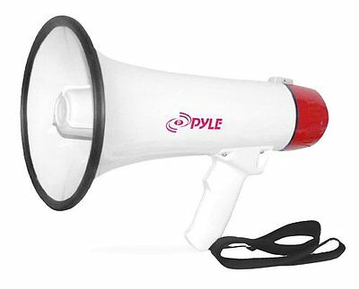 Pyle-Pro PMP40 Professional Megaphone/Bullhorn with Siren and Handheld Mic...NEW