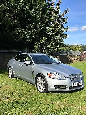 2010 Jaguar Xf Luxury V6 Auto Silver