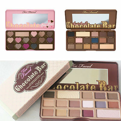 Too Faced Chocolate Bar BON BONS Semi Sweet Eyeshadow Makeup Collection Palette