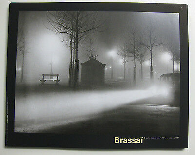 BRASSAI Car in Fog Poster Lot of 60 Art Print Decor Framing Size 16X20 Vintage
