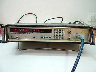 EIP 545 counter and RF power meter 1 to 18GHz -30 to +10dBm
