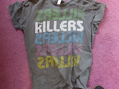 The Killers Day & Age Tour 2009 T-shirt size L