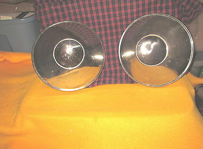 """Vintage 1953 Studebaker 10"""" Hubcap Hub Cap Set Of Two 2  Very Good Condition"""