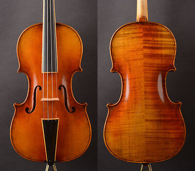"""Mordern """"Baroque Style"""" , A T19+ Violin,Thin neck!German Oil ! Best performance"""