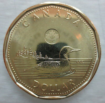 Canada 2015 Loonie Brilliant Uncirculated Dollar