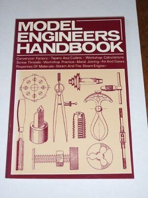 Model Engineer's Handbook by Cain, Tubal Paperback Book The Cheap Fast Free Post