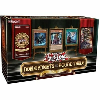 Yu-Gi-Oh! Yugioh Noble Knights Of The Round Table Box Set Factory Sealed New
