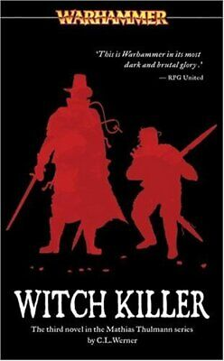 Witch Killer (Warhammer) by Werner, C L Paperback Book The Cheap Fast Free Post
