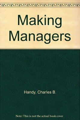 Making Managers by Randlesome, Colin Paperback Book The Cheap Fast Free Post