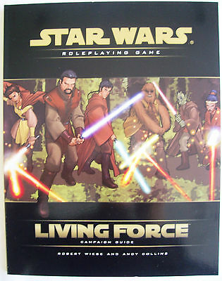 STAR WARS Role Playing Game RPG LIVING FORCE CAMPAIGN GUIDE-As New Uncirculated