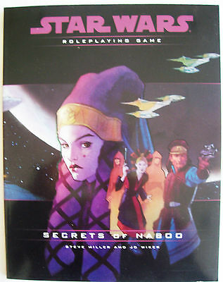 STAR WARS Role Playing Game RPG SECRETS OF NABOO Book - VGC Uncirculated