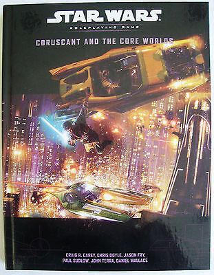 STAR WARS Role Playing Game RPG CORUSCANT AND THE CORE WORLDS Book-Brand New