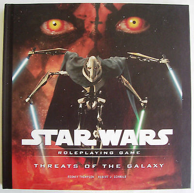 STAR WARS Role Playing Game RPG THREATS OF THE GALAXY Book - New