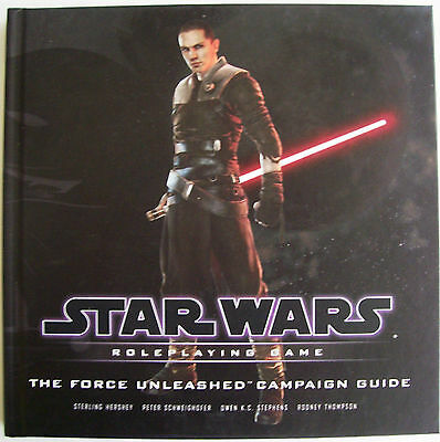 STAR WARS Role Playing Game RPG THE FORCE UNLEASHED CAMPAIGN GUIDE Book - New