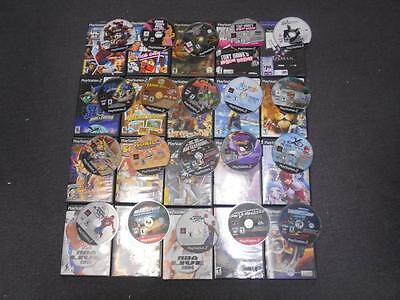 Lot of 20 DEFECTIVE ps2 GAMES