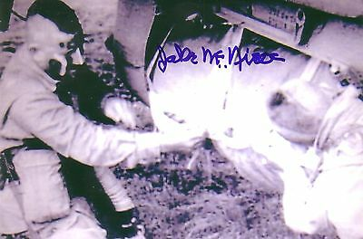 Jake McNiece Filthy 13 The Dirty Dozen WWII Autographed Signed Photo DECEASED