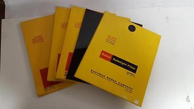 Lot of 5 Kodak 10 x 12 Safelight Filters