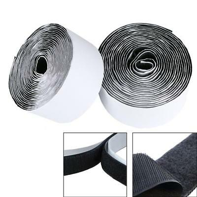 Heavy Duty Self Adhesive Sticky Back Hook & Loop Fastening Tape Sew On 25/ 50mm