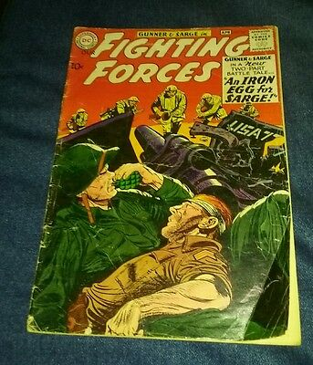 Our Fighting Forces (1954) #54 GD/VG 3.0 gunner and sarge silver age war comics