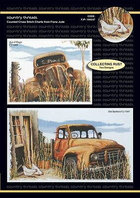 Collecting Rust - 'Combo' Cross Stitch Chart from Country Threads. 2 Designs