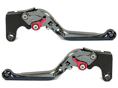 Titan Extend & Foldable Extreme Clutch Brake Lever for Yamaha MT-07 FZ-07 14-16