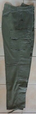 "French Army ""satin 300"" Combat Trousers Model 1964"