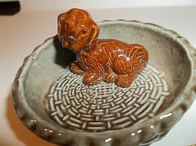 Vintage Wade England Pin Dish Small Spaniel Very Good Condition Lots Pictures