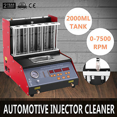TQ-6 Fuel Petrol Injector Cleaner Tester Testing Automotive Ultrasonic Cleaner