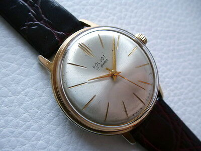 Elegant Very rare Vintage POJOT Men's watch from 1960's years! Russian Harmony!