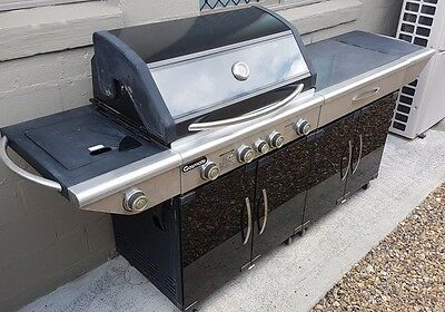 Gas Mate BBQ - 4 burner - with side module