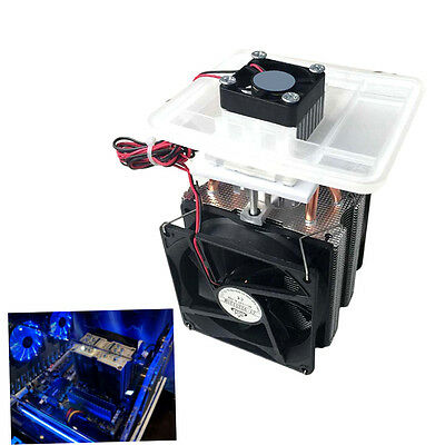 Good 72W Semiconductor Cooling System Air Conditioning Refrigeration Cool Set F0