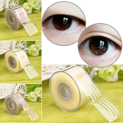 300 Pair Adhesive Invisible Wide/Narrow Double Eyelid Sticker Tape Makeup F5