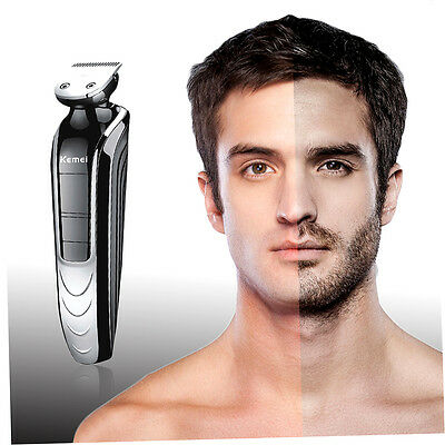 5 In 1 Men'S Professional Waterproof Electric Hair Clippers Beard Razor GH