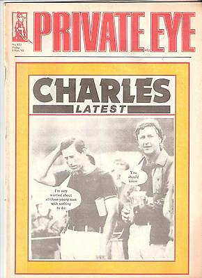 Private Eye Magazine # 623  1 November 1985 Prince of Wales  Charles  Polo cover