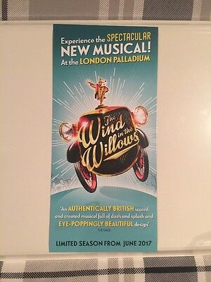 The Wind In The Willows The Musical, 1 Flyer