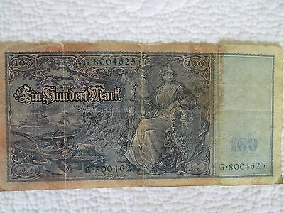 GERMANY,German Empire, 100 MARK banknote 1910