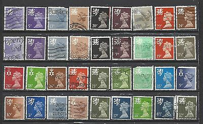 British stamps regional collection stamps machin all different gb Good mix