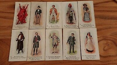 full set of players past and present cigarette cards