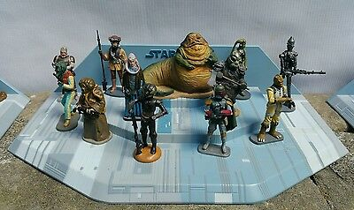 Star Wars Official Figurine Collection Deagostini Lucasfilm 49 figures 3 Bases