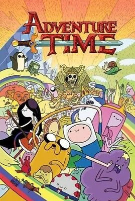 ADVENTURE TIME VOLUME 1 GRAPHIC NOVEL New Paperback Cartoon Network