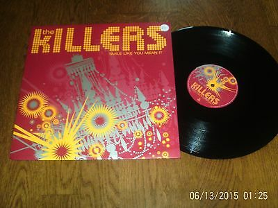 """The Killers - Smile Like You Mean It -  12"""" vinyl 2005"""