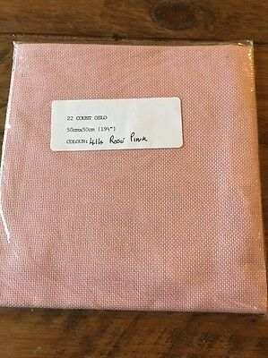 22 Count Oslo - Rose Pink