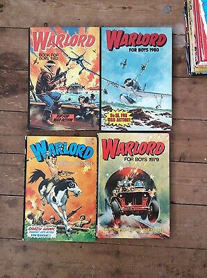 Warlord for Boys Annuals